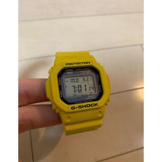 ジーショック(G-SHOCK)のG-SHOCK G-5600A タフソーラー 黄色イエロー バックライト確認済(腕時計(デジタル))