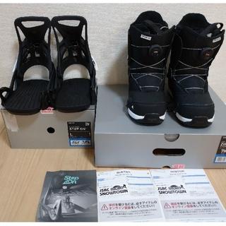 バートン(BURTON)の値下げ【美品・保証書付】BURTON Step On ブーツ ビンディングセット(バインディング)