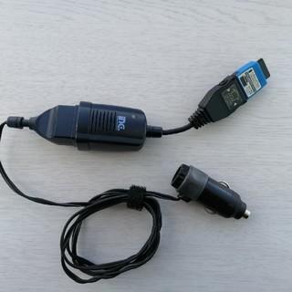 topland 充電器 cdma one カーソケット用(バッテリー/充電器)