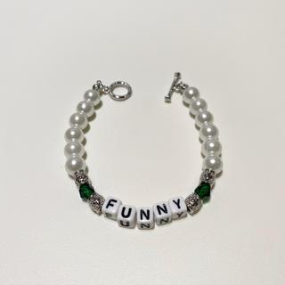 キャピタル(KAPITAL)のpearl beads bracelet パールビーズブレスレット(ブレスレット)