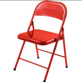 シュプリーム(Supreme)のSupreme Metal Folding Chair Red (折り畳みイス)
