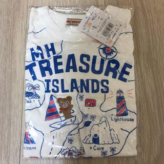 ミキハウス(mikihouse)の新品タグ付 ミキハウス 110 プッチー トレジャー 白 半袖Tシャツ 男の子(Tシャツ/カットソー)