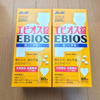 アサヒ - エビオス錠 2000錠×2箱