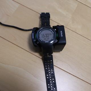エプソン(EPSON)のエプソン GPSウォッチ SF810 ランニング(腕時計(デジタル))