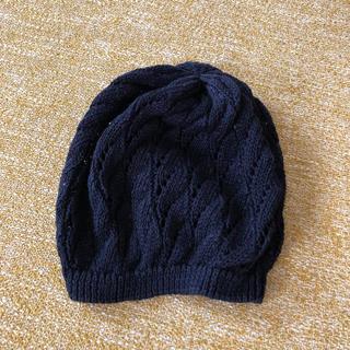 ムジルシリョウヒン(MUJI (無印良品))の無印のニット帽 (ニット帽/ビーニー)