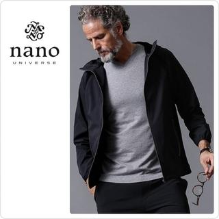 ナノユニバース(nano・universe)の新品♡定価20350♡ Will Lounge フーディーブルゾン(ブルゾン)