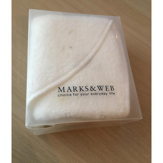 MARKS&WEB - オーガニックコットン フェイスマスクタオル MARKS&WEB