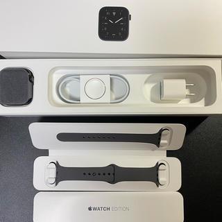 アップルウォッチ(Apple Watch)のApple Watch Series 5 Edition 44mm(腕時計(デジタル))