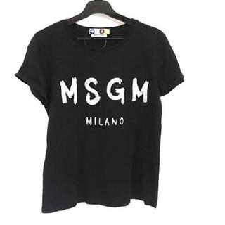 エムエスジイエム(MSGM)のエムエスジィエム 半袖Tシャツ サイズS -(Tシャツ(半袖/袖なし))