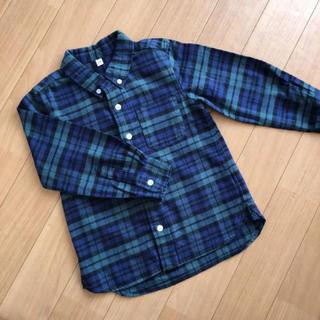 ムジルシリョウヒン(MUJI (無印良品))の無印良品 チェックシャツ ネルシャツ(ブラウス)