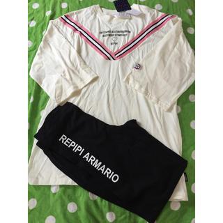repipi armario - 《新品・タグ付き未使用》repipi armario パジャマ 160cm A