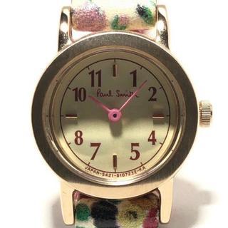 ポールスミス(Paul Smith)のポールスミス 腕時計 - 4521-S073871 花柄(腕時計)