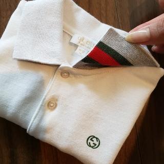 グッチ(Gucci)のGUCCI ポロシャツ☆キッズ ベビー9M(Tシャツ/カットソー)