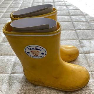 ファミリア(familiar)のfamiliar レインブーツ 長靴(長靴/レインシューズ)