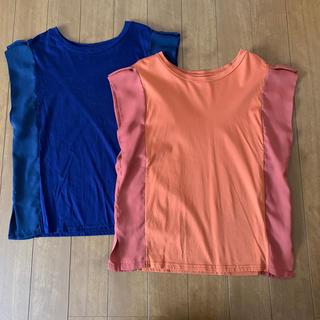 ナノユニバース(nano・universe)のナノユニバース*トップス2枚セット(Tシャツ(半袖/袖なし))