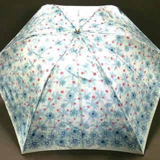 ランバンオンブルー(LANVIN en Bleu)のランバンオンブルー 折りたたみ傘美品 (傘)