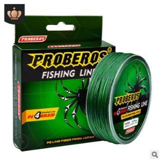 PEライン 高強度 PRO 1号 15lb/100m巻き カラーグリーン 釣り糸(釣り糸/ライン)