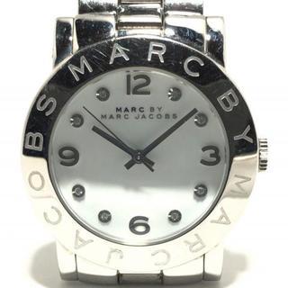 マークバイマークジェイコブス(MARC BY MARC JACOBS)のマークジェイコブス 腕時計 - MBM3054 白(腕時計)