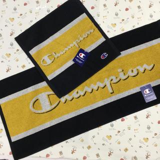 チャンピオン(Champion)のチャンピオン ハンドタオル フェイスタオル  2枚セット(タオル/バス用品)