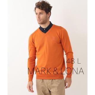 マークアンドロナ(MARK&LONA)の☆新品☆【MARK&LONA】ニット セーター(ウエア)