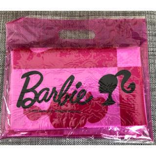 バービー(Barbie)のPink♡様専用Barbieキッズノベルティクリアケース入りレジャーシート(その他)