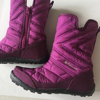 コロンビア(Columbia)のColumbia 女児22cmブーツ(ブーツ)