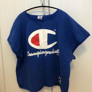 チャンピオン(Champion)のchampion スウェット生地 ノースリーブ(Tシャツ(半袖/袖なし))