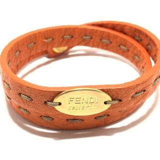 フェンディ(FENDI)のフェンディ ブレスレット セレリア レザー(ブレスレット/バングル)