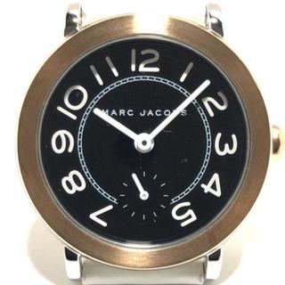マークバイマークジェイコブス(MARC BY MARC JACOBS)のマークジェイコブス 腕時計 MJ1515 黒(腕時計)