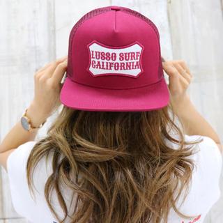 ロンハーマン(Ron Herman)の西海岸スタイル☆カリフォルニアパッチキャップ ボルドー 帽子 ディーゼル(キャップ)