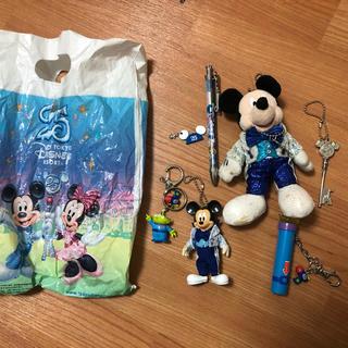 ディズニー(Disney)のディズニーランド ディズニー 25周年記念 入手困難激レアセット総額1万5000(キャラクターグッズ)