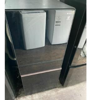 SHARP - SHARPプラズマクラスター冷蔵庫 ガラストップ 💍2017年製💍 ブラック