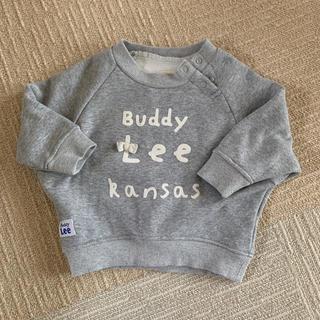 バディーリー(Buddy Lee)のlee リボン付 トレーナー グレー 女の子(トレーナー)