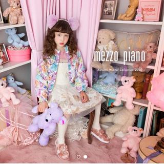 メゾピアノ(mezzo piano)のメゾピアノピンク靴下(靴下/タイツ)
