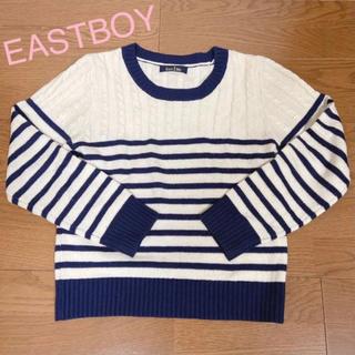 イーストボーイ(EASTBOY)のイーストボーイ EASTBOY ボーダーニット セーター(ニット/セーター)