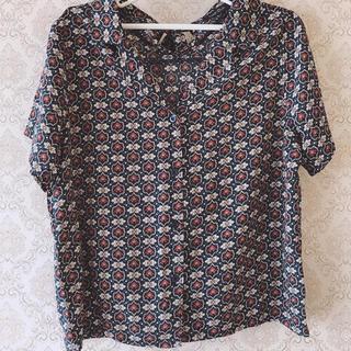 アベイル(Avail)のレディース オープンカラーシャツ(シャツ/ブラウス(半袖/袖なし))
