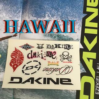 ダカイン(Dakine)の訳ありDAKINEダカインハワイUS限定10枚マルチステッカーシート(サーフィン)