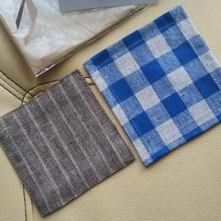 フォグリネンワーク(fog linen work)のfog linen work コースター☆       スタジオエム コースター(テーブル用品)