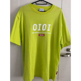 5252 by OiOi ロゴ Tシャツ lime(Tシャツ(半袖/袖なし))