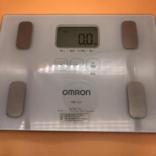 オムロン(OMRON)のオムロン 体重体組成計 HBF-212 カラダスキャン(体重計/体脂肪計)