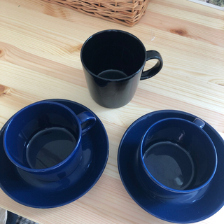 イッタラ(iittala)のティーマのカップ&ソーサー二個セット、マグカップ (食器)