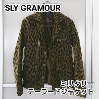スライ(SLY)のSLY GRAMOUR ミリタリー テーラードジャケット(テーラードジャケット)