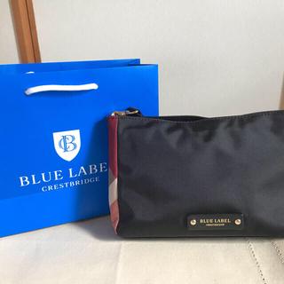 バーバリーブルーレーベル(BURBERRY BLUE LABEL)のブルーレベルセット!バックとハンカチ(その他)