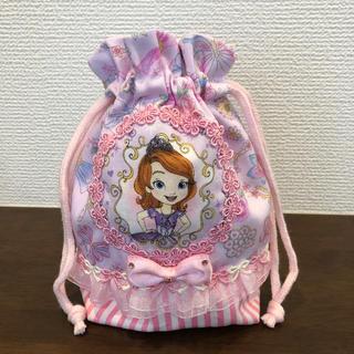 さかなっちゃん様専用 コップ袋 小さなプリンセス ソフィア (外出用品)