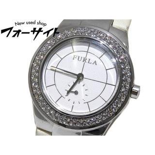 フルラ(Furla)のフルラ レディース クォーツ 時計 ☆ ラインストーン スモールセコンド(腕時計)
