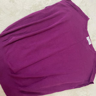 オペークドットクリップ(OPAQUE.CLIP)のトップス ピンク(Tシャツ(半袖/袖なし))
