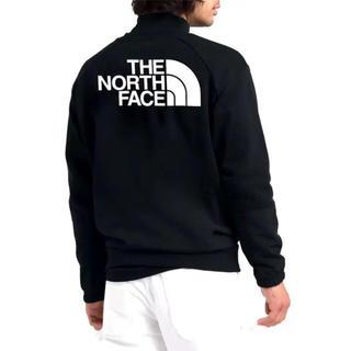 ザノースフェイス(THE NORTH FACE)の日本未発売 ノースフェイス L 切り替え クルーネック スウェット ブラック(スウェット)