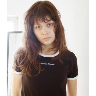 エディットフォールル(EDIT.FOR LULU)の【シャルルシャトン】color scheme TEE(Tシャツ/カットソー(半袖/袖なし))