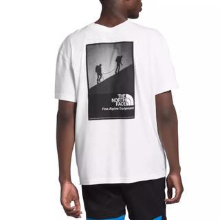 ザノースフェイス(THE NORTH FACE)の海外限定 ノースフェイス L モダンレッジ Tシャツ ホワイト(Tシャツ/カットソー(半袖/袖なし))