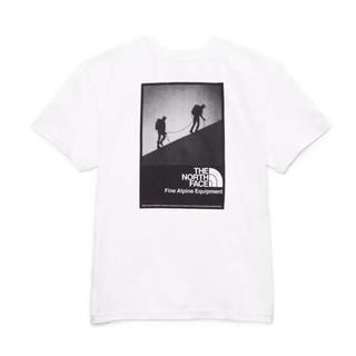 ザノースフェイス(THE NORTH FACE)の海外限定 ノースフェイス XL モダンレッジ Tシャツ ホワイト(Tシャツ/カットソー(半袖/袖なし))